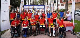 Orihuela hosts the fifth event of the Spanish Cup of Adapted Road Cycling