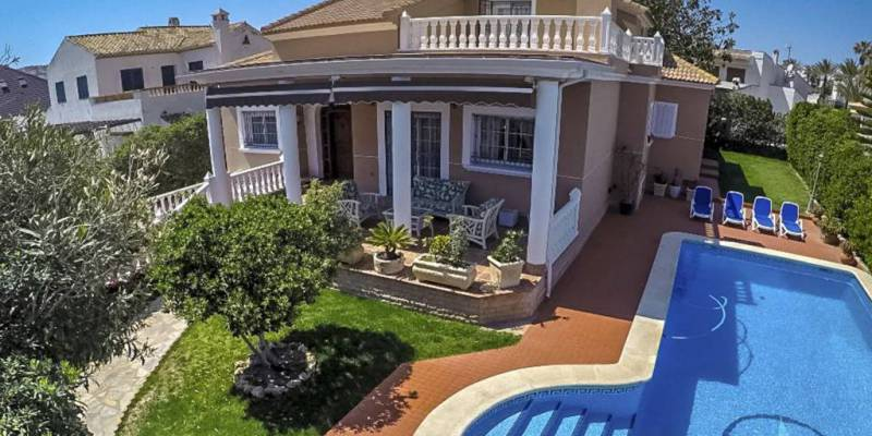 In 2018 the villas for sale Orihuela Costa were the most demanded by the European market