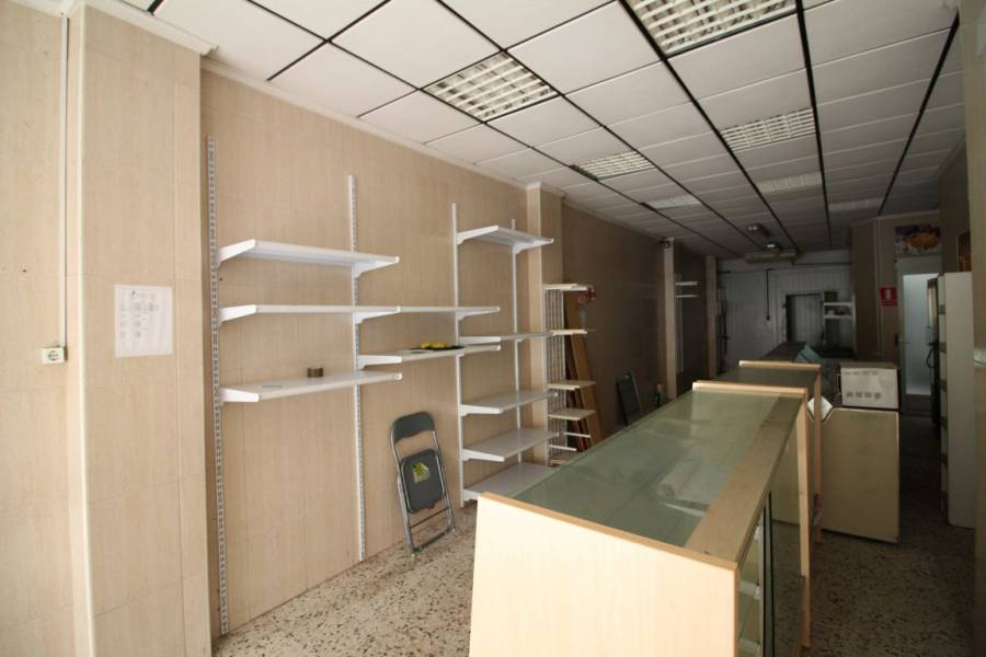 Sale & Rental - Business Premises - Playa del cura - Torrevieja